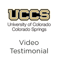 University of Colorado Colorado Springs Customer Success Story