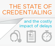 Impact of Credentialing Delays Infographic Related Resource