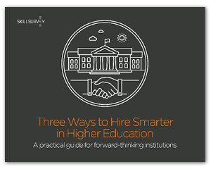 3 Ways to Hire Smarter in Higher Education eBook