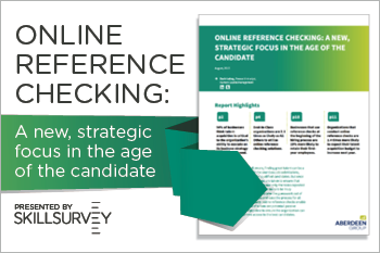 Aberdeen Group Report on Online Reference Checking Whitepaper Essential Grid