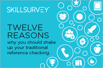 12 Reasons to Rethink Reference Checking Guide