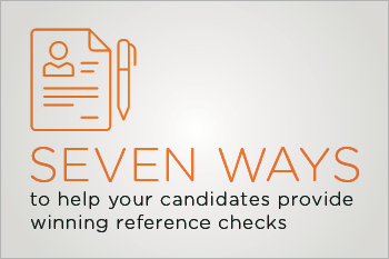 Recruiters Guide to Reference Checks