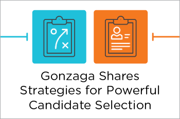 Gonzaga Shares Candidate Selection Strategies Share Essential Grid
