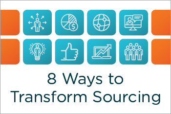 Transform Sourcing Inforgraphic Essential Grid