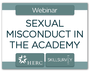 Sexual Misconduct in the Academy Webinar